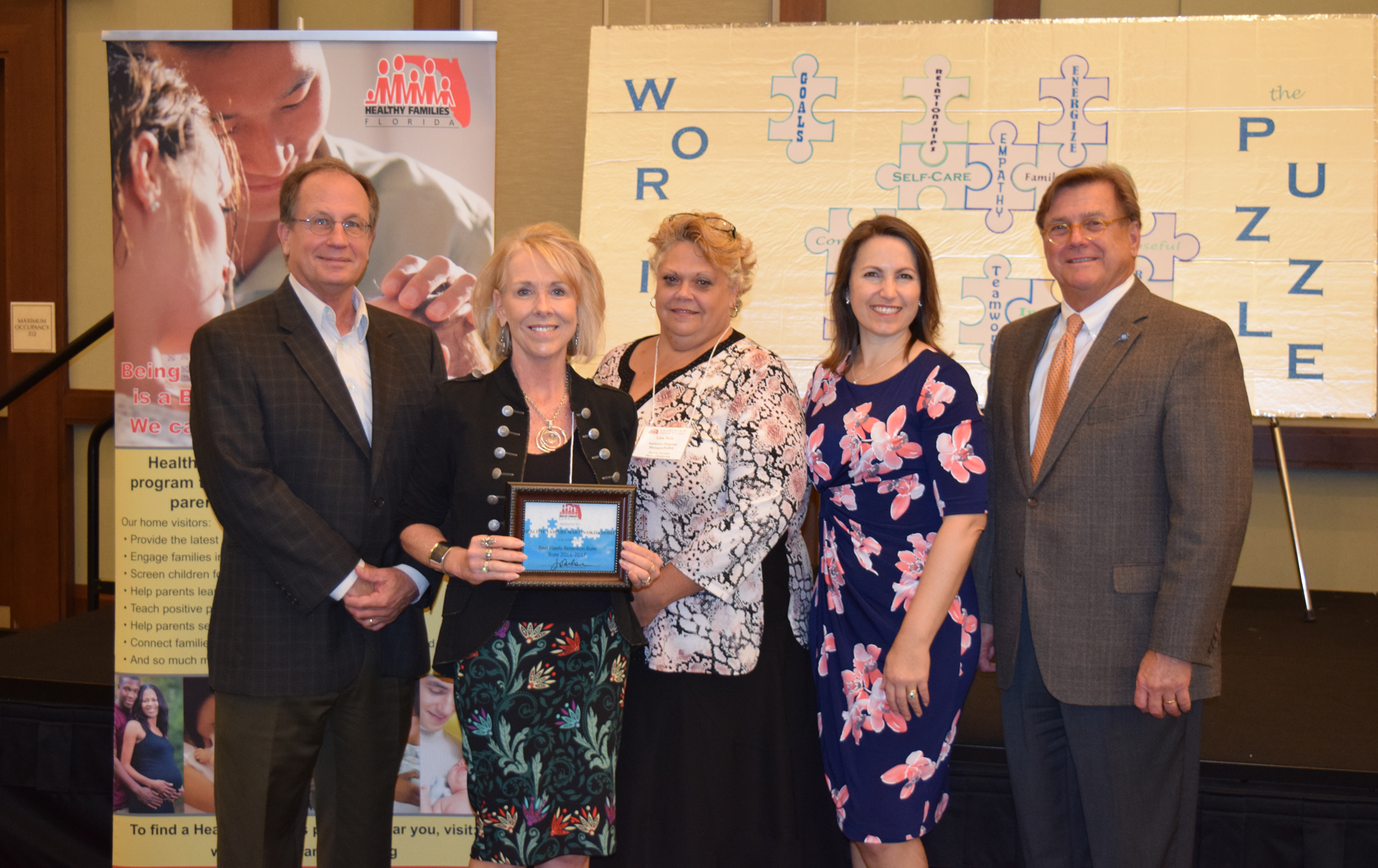 HF Martin-Okeechobee Staff Receive Award