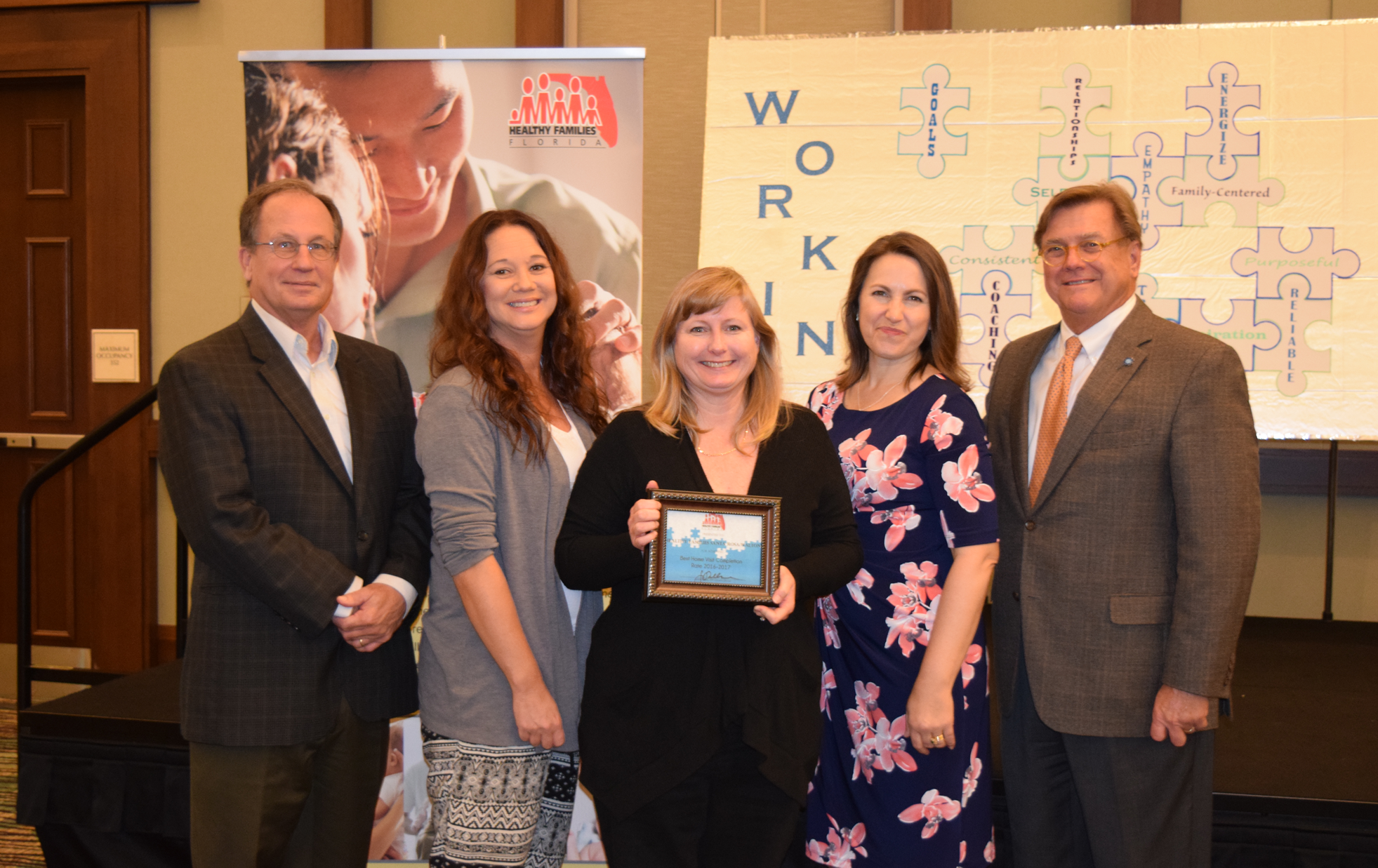HF Santa Rosa-Walton Staff Receive Award