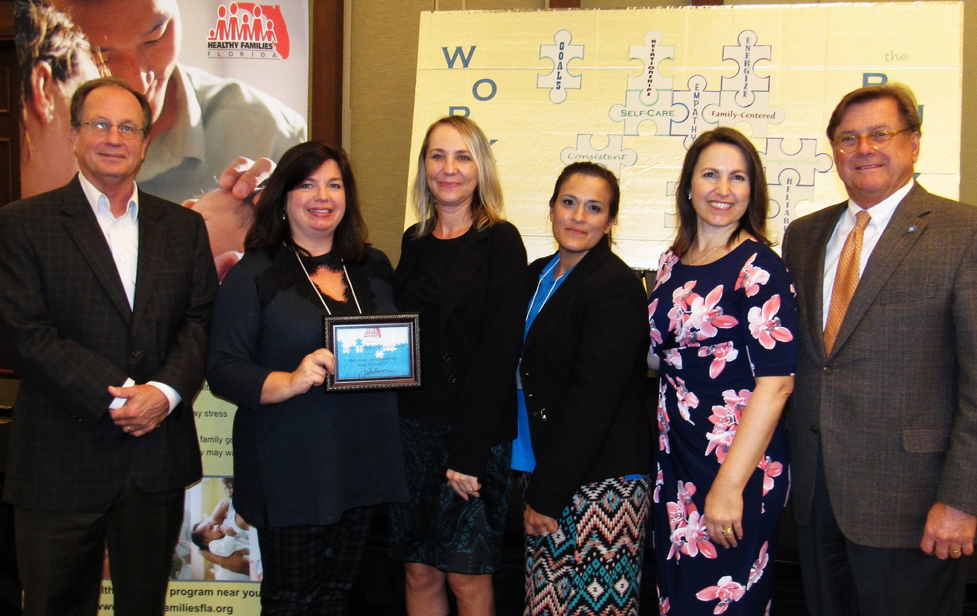 HF Volusia-Flagler Staff Receive Award